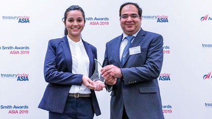 Photo of Akansha Sharma and Vikram Mehta, QuEST Global
