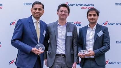 Photo of Saurabh R Gupta, Citi, Stanley Liu and Vibhash Joshi, General Electric