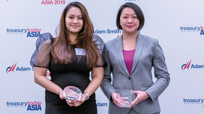 Photo of Terica Traazil, Element Solutions Inc and Ai Chen Lim, HSBC