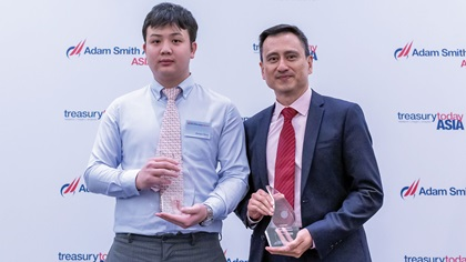 Photo of Zhaojun Deng, Guazi and Kheng Leong Cheah, J.P. Morgan Asset Management