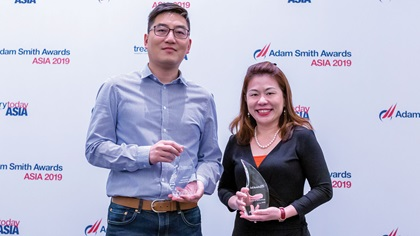 Photo of Li Chengyuan, ByteDance Inc and Gina Lim, DBS