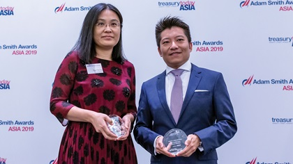 Photo of Pang Ying Ying, SITC International Holdings Company Limited and Benjamin Che, Standard Chartered