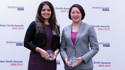Photo of Priyanka Bhojani, Hindustan Unilever Limited and Ai Chen Lim, HSBC