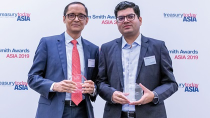 Photo of Aziz Parvez, Bank of America and Vinit Mishra, Louis Dreyfus Company India Pvt Ltd