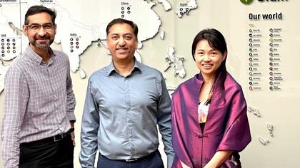 Photo of Aditya Renjen, Jayant Parande, Irene Chan