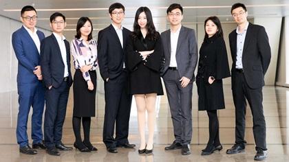 Photo of Guo Sicong, She Beike, Qin Lu, Xiao Yuxuan, Wu Dandan, Ni Chun, Teng Hua and Fan Jingwen, Ping An Insurance (Group) Company of China, Ltd.