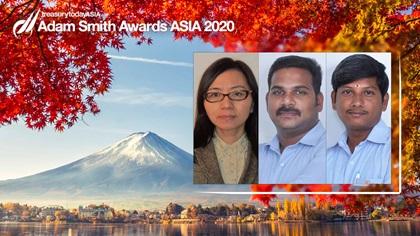 Photo of Jessica Cao, Rajasekhar Ramalingam and Sathish Kathirvel, Visteon Electronics India Pvt Ltd.