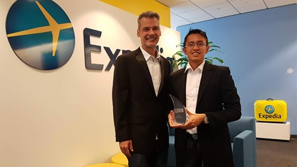 Expedia with their Adam Smith Award