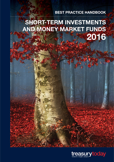 Short-Term Investments and Money Market Funds 2016 Best Practice Handbook cover