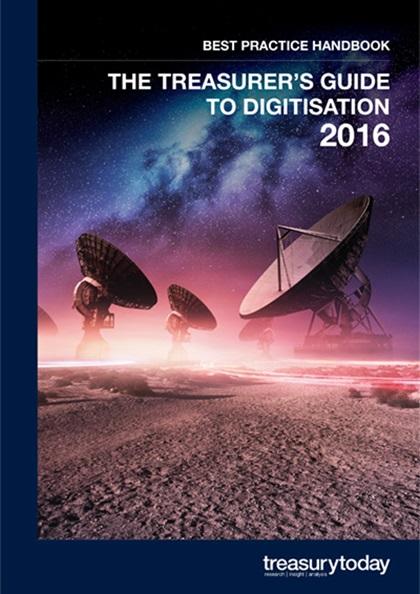 The Treasurer's Guide to Digitisation 2016 Best Practice Handbook cover
