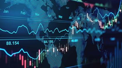 Digital global trading concept