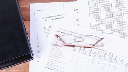 Financial statement documents