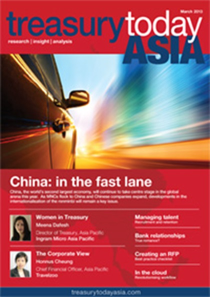 Treasury Today Asia March/April 2013 magazine cover
