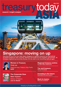 Treasury Today Asia May/June 2013 magazine cover