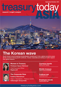 Treasury Today Asia September/October 2013 magazine cover