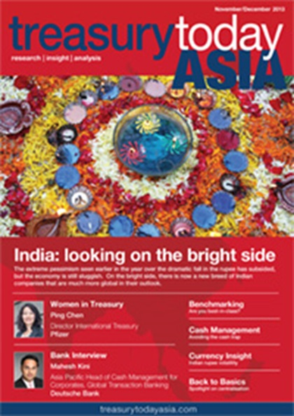 Treasury Today Asia November/December 2013 magazine cover