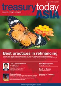 Treasury Today Asia January/February 2014 magazine cover
