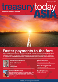 Treasury Today Asia March/April 2014 magazine cover
