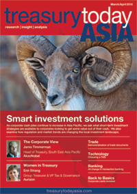 Treasury Today Asia March/April 2015 magazine cover