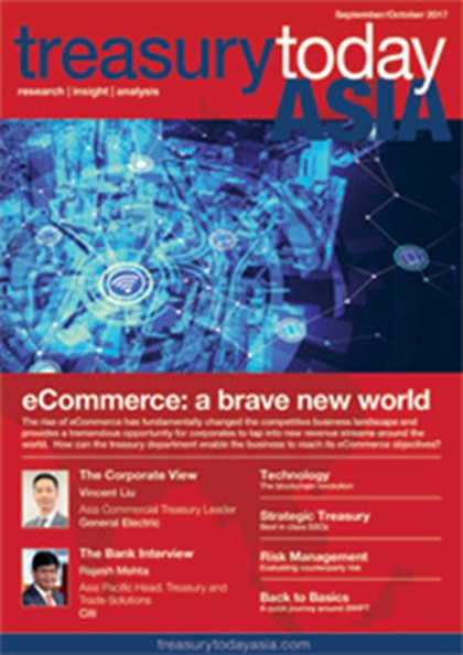 Treasury Today Asia September/October 2017 magazine cover