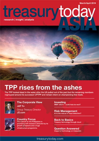 Treasury Today Asia March/April magazine cover