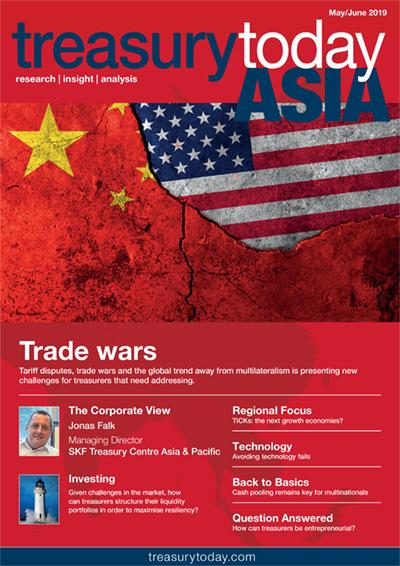 Treasury Today Asia May/June 2019 magazine cover