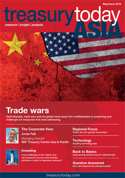 Treasury Today Asia May/June 2019 magazine cover