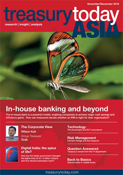 Treasury Today Asia November/December 2019 magazine cover