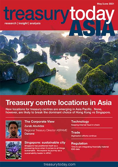 Treasury Today Asia May/June 2021 magazine cover