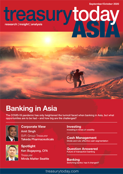 Treasury Today Asia September/October 2020 magazine cover
