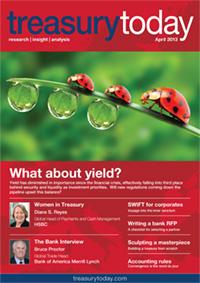 Treasury Today April 2013 magazine cover