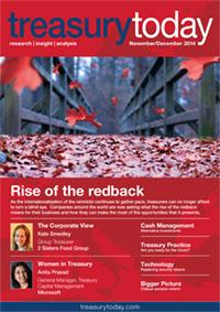 Treasury Today November/December 2014 magazine cover