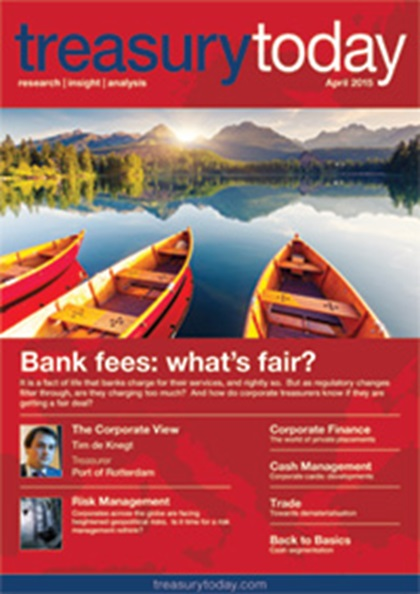 Treasury Today April 2015 magazine cover