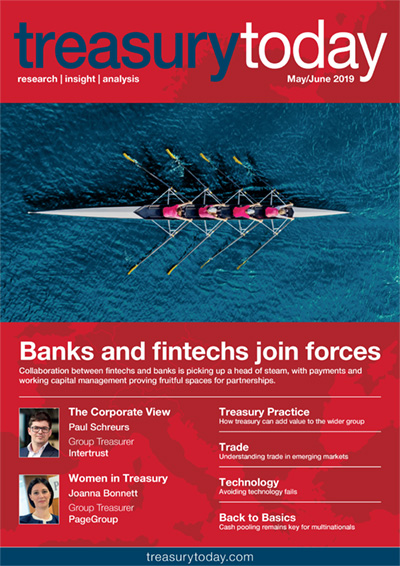 Treasury Today May/June 2019 magazine cover