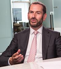 Portrait of Matthew Davies, Head of Global Transaction Services EMEA, Bank of America Merrill Lynch