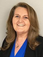 Portrait of Cathy Fields, Assistant Treasurer and Director of Global Risk Management, Hitachi Vantara