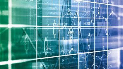 Financial data monitor