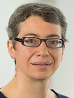 Portrait of Frances Hinden, VP Treasury Operations, Shell