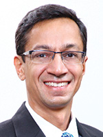 Portrait of Param Thind, Head of Asia Pacific Digital Channels, Global Transaction Services, Bank of America