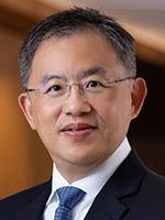 Portrait of Alan Lin, Head of Asia Pacific Core Cash Management, J.P. Morgan