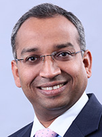 Portrait of Sandip Patil, Managing Director, Asia Head, Financial Institutions Group and Liquidity Management Services, Citi