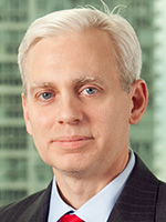 Portrait of Tom Durkin, Global Head of Financing and Channels in GTS, Bank of America