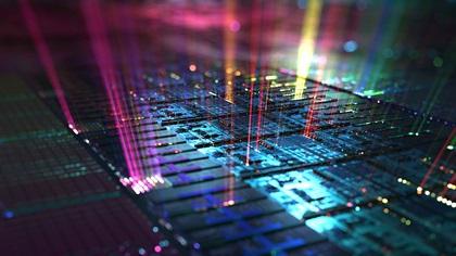Computer Hardware Data Chip