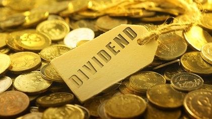 Gold coins - dividends