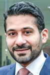 Portrait of Shoaib Yaqub, Head of Financing Solutions & Advisory, Standard Chartered