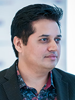 Portrait of Praveen Juyal, Treasury Manager, Amway India