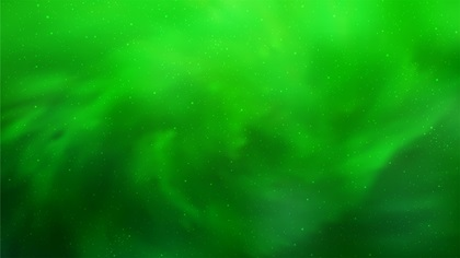 Green galaxy background