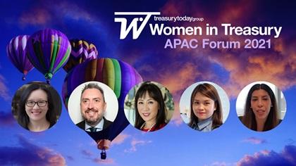 Women in Treasury APAC Forum 2021 panel