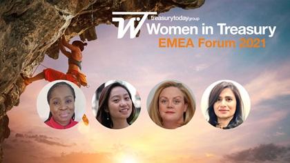 Women in Treasury EMEA Forum 2021 panel
