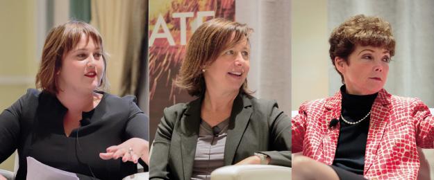 Sophie Jackson, Susan Mercer and Karen Gilhooly